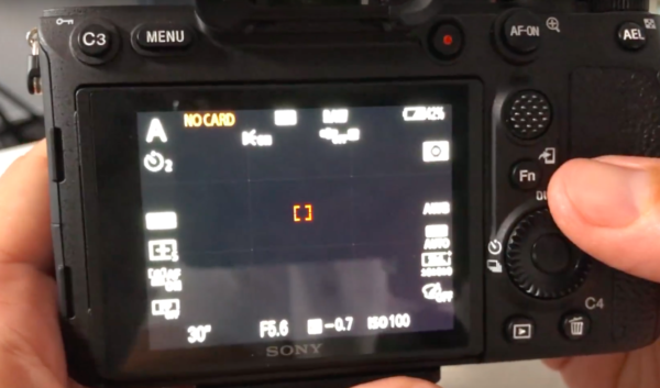 Modification collimateur sur le Sony Alpha 7R IV